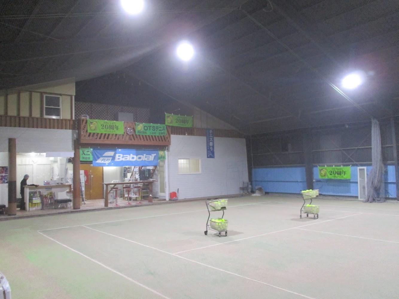 (写真3:OTSテニススクール南町田学校のコート)