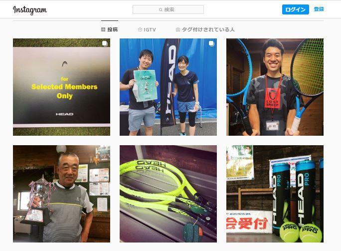 高松ローンテニスクラブのインスタグラム