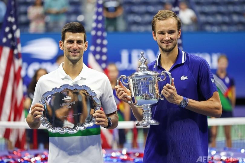全米オープン優勝時の1枚
